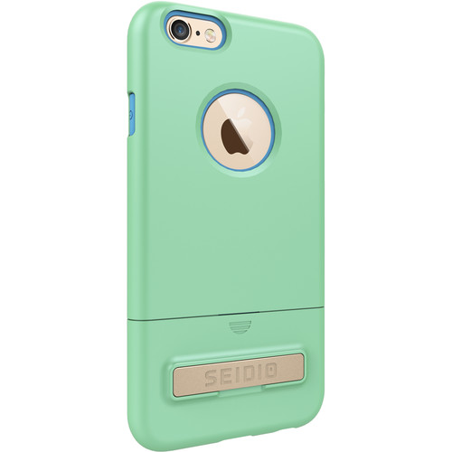 Seidio SURFACE Case with Kickstand for iPhone 6/6s (Mint/Blue)
