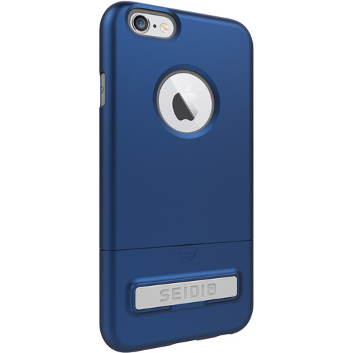 Seidio SURFACE Case with Kickstand for iPhone 6/6s (Royal Blue/Gray)