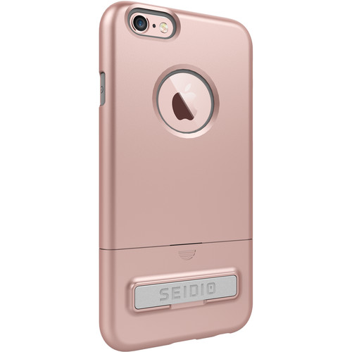 Seidio SURFACE Case with Kickstand for iPhone 6/6s (Rose Gold/Gray)