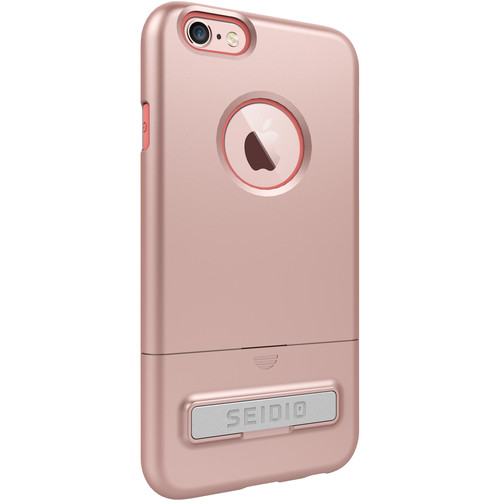 Seidio SURFACE Case with Kickstand for iPhone 6/6s (Rose Gold/Blue)