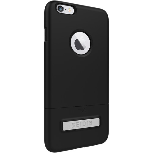 Seidio SURFACE Case with Kickstand for iPhone 6 Plus/6s Plus (Black/Black)