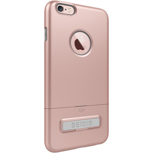 Seidio SURFACE Case with Kickstand for iPhone 6 Plus/6s Plus (Rose Gold/Gray)