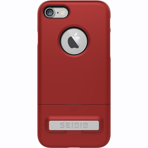 Seidio SURFACE Case with Kickstand for iPhone 7 (Red/Black)