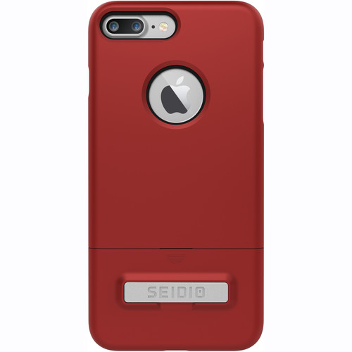 Seidio SURFACE Case with Kickstand for iPhone 7 Plus (Red/Black)