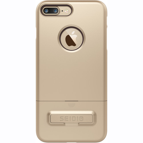 Seidio SURFACE Case with Kickstand for iPhone 7 Plus (Gold/Black)