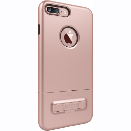 Seidio SURFACE Case with Kickstand for iPhone 7 Plus (Gold/Brown)