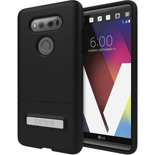 Seidio SURFACE Case with Kickstand for LG V20 (Black/Black)
