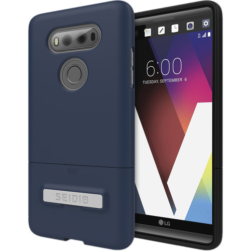 Seidio SURFACE Case with Kickstand for LG V20 (Midnight Blue/Gray)