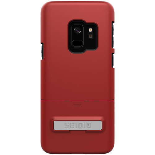 Seidio Surface Case for Samsung Galaxy S9 (Dark Red/Black)