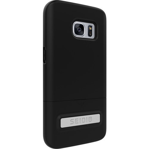 Seidio SURFACE Case with Kickstand for Galaxy S7 (Black/Black)