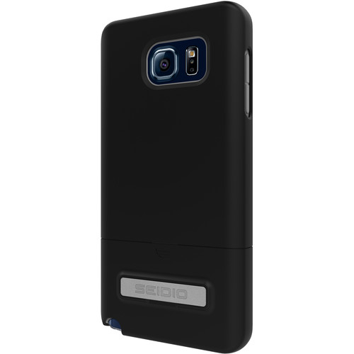 Seidio SURFACE Case with Kickstand for Galaxy Note 5 (Black)