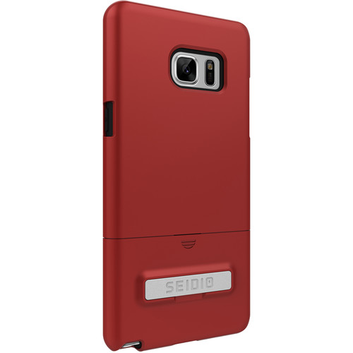 Seidio SURFACE Case with Kickstand for Galaxy Note 7 (Dark Red/Black)