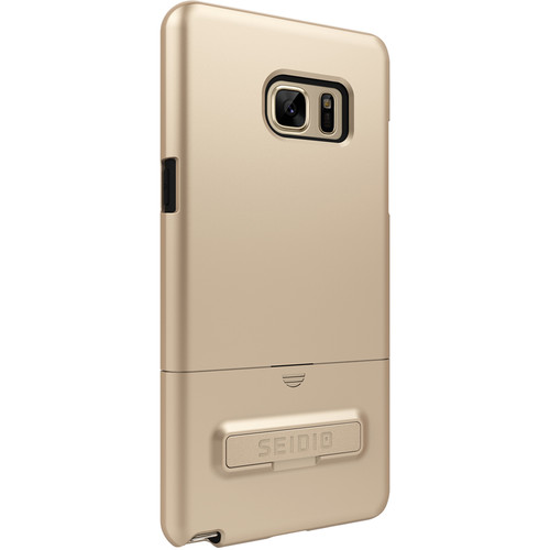 Seidio SURFACE Case with Kickstand for Galaxy Note 7 (Gold/Black)