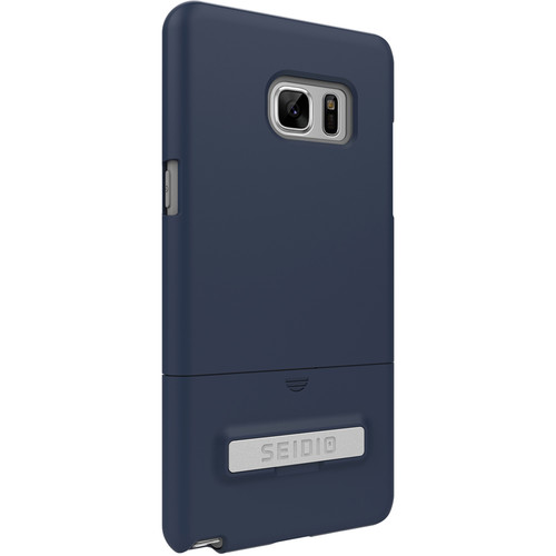 Seidio SURFACE Case with Kickstand for Galaxy Note 7 (Midnight Blue/Gray)