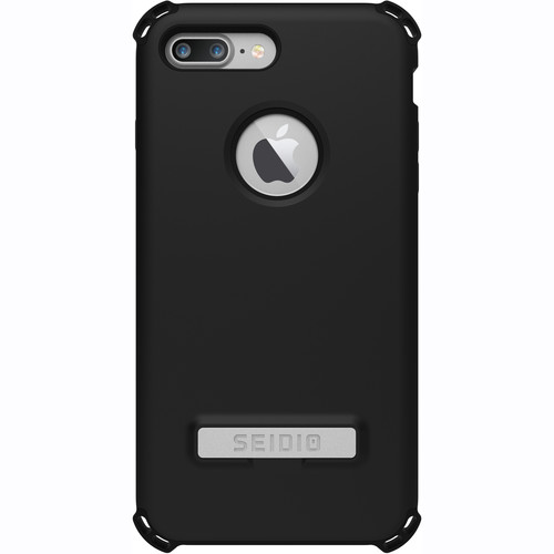 Seidio Dilex Case with Kickstand for iPhone 7 Plus (Black/Black)
