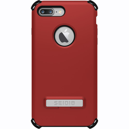 Seidio Dilex Case with Kickstand for iPhone 7 Plus (Red/Black)