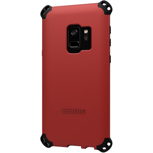 Seidio Dilex Case for Samsung Galaxy S9 (Dark Red/Black)