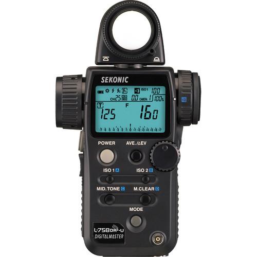 Sekonic L-758DR-U DigitalMaster Light Meter for PocketWizard System