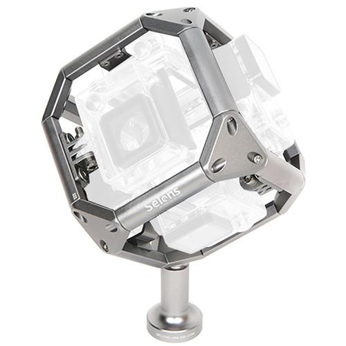 Selens SE-GPP6WP Virtual Reality Spherical Panorama Frame Mount for GoPro