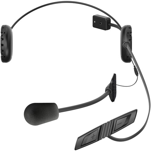 SENA 3S Bluetooth Headset and Intercom for Scooters & Motorcycles (Wired & Boom Microphones)