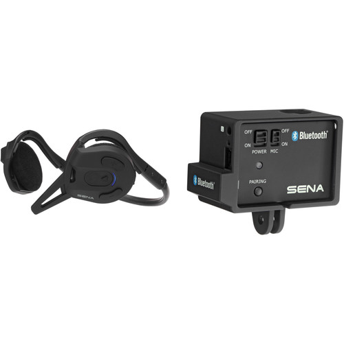 SENA Expand Bluetooth Intercom and Stereo Headset Kit with Audio Pack for GoPro
