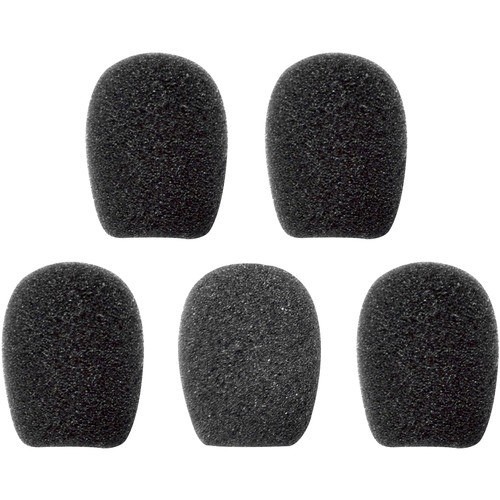 SENA Microphone Sponges for SMH10R / SMH5 / SMH3 / SPH10 Series (5-Pack)