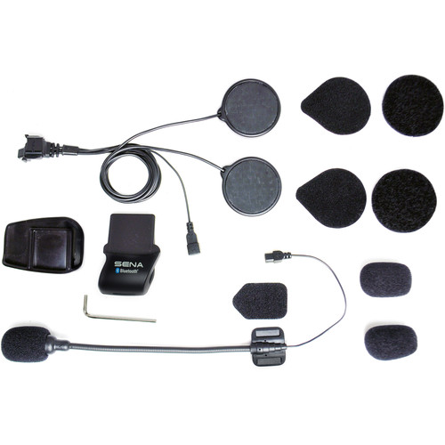 SENA Helmet Clamp Kit with Boom Microphone for SMH5 / SMH5-FM / SPH10H-FM Bluetooth Headset & Intercom
