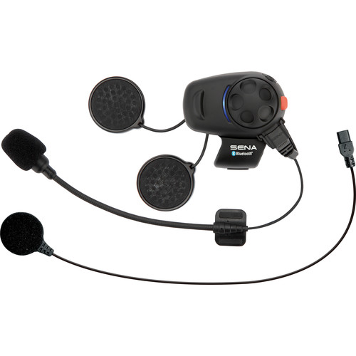 SENA SMH5 Motorcycle Bluetooth Headset & Intercom with Universal Microphone Kit
