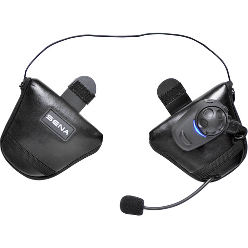 SENA SPH10 Bluetooth Stereo Headset & Intercom with Built-in FM Tuner for Half Helmets