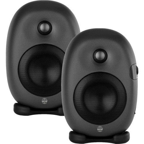 "Senal ASM-4 Professional Two-Way Active 4"" Studio Monitor Speakers (Pair)"
