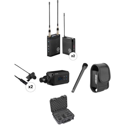 Senal AWS-2000-A ENG Dual Wireless Basic Kit (A: 522 to 554 MHz)