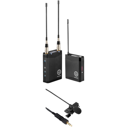 Senal AWS-2000-B Advanced Wireless Microphone System Kit (B: 554 to 586 MHz, CL6 Lavalier Microphone Included)