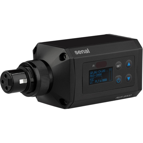 Senal AWS-2000P-A Plug-On Transmitter for AWS-2000 Wireless System (A: 522 to 554 MHz, No Microphone Included)