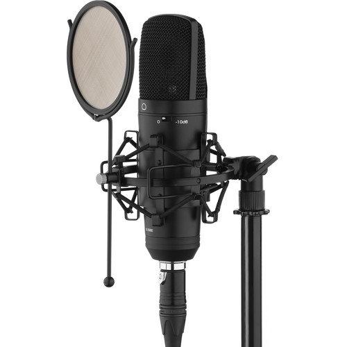 Senal SC550X Cardioid Condenser Mic with USB Dual Audio Interface & Cable Kit