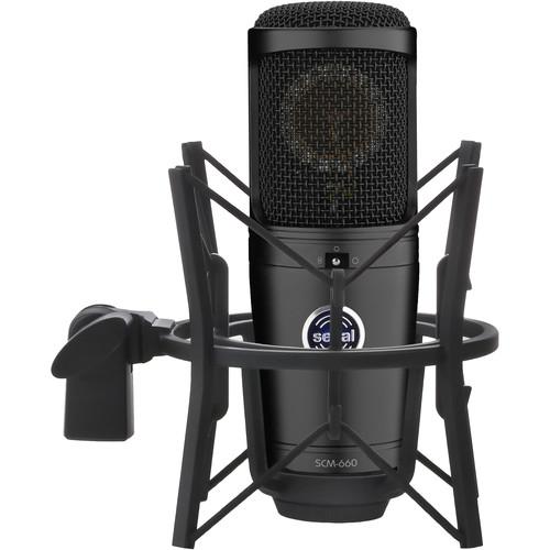 Senal SCM-660 Multi-Pattern Condenser Mic with Studio Channel Preamp & Vocal Kit