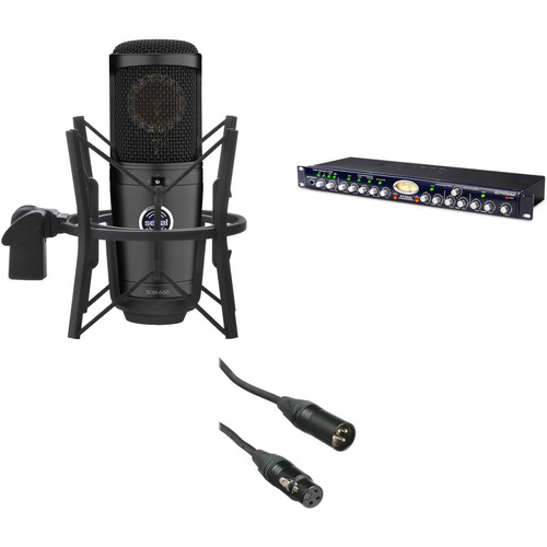 Senal SCM-660 Multi-Pattern Condenser Mic with Studio Channel Preamp & Vocal Kit
