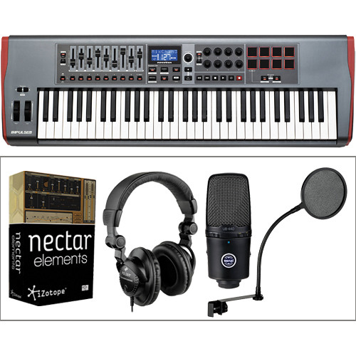 Senal Singer-Songwriter Bundle with Novation Impulse MIDI Controller