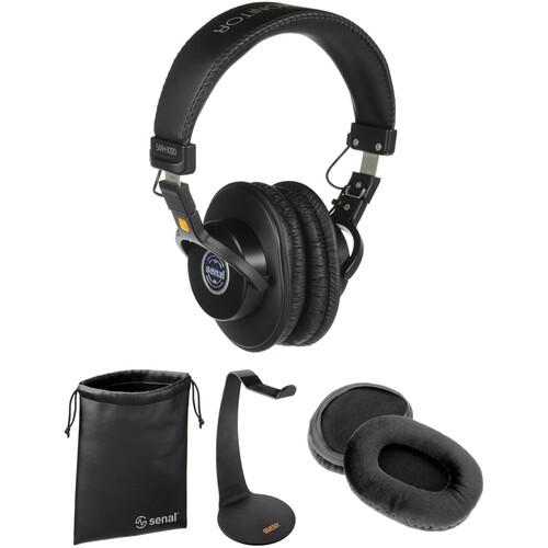 Senal SMH-1000 Deluxe Studio Monitor Headphones Kit