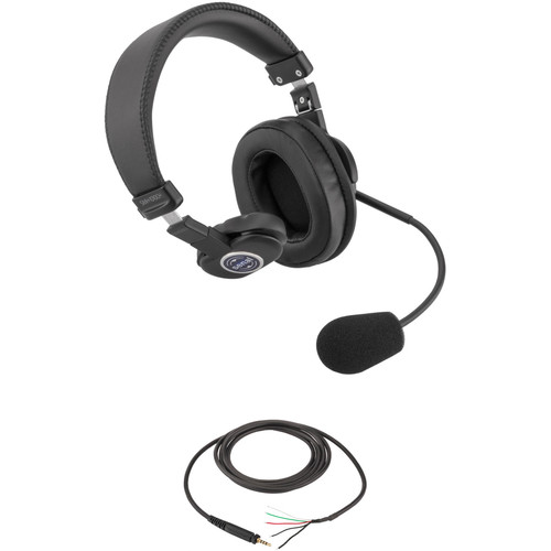Senal SMH-1010CH Single-Sided Communication Headset with Pigtail Cable (No Connector)