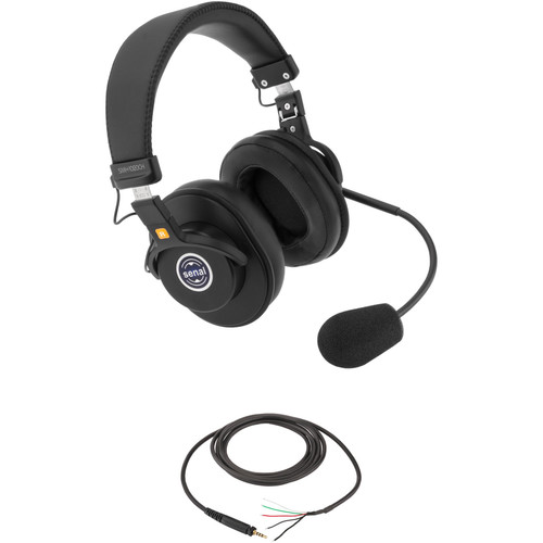 Senal SMH-1020CH Dual-Sided Communication Headset with Pigtail Cable (No Connector)