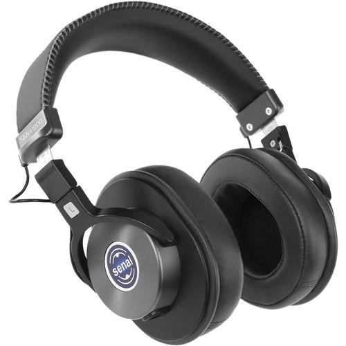 Senal SMH-1200 Enhanced Studio Monitor Headphones (Onyx)