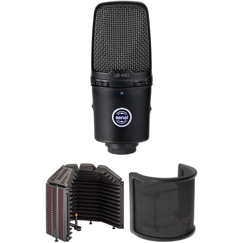 Senal UB-440 USB Microphone Desktop Recording Kit
