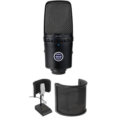 Senal UB-440 USB Microphone Desktop Recording Kit
