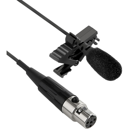 Senal UTM-86-TA4 Lavalier Mic with TA4 Connector for Shure Wireless Transmitters