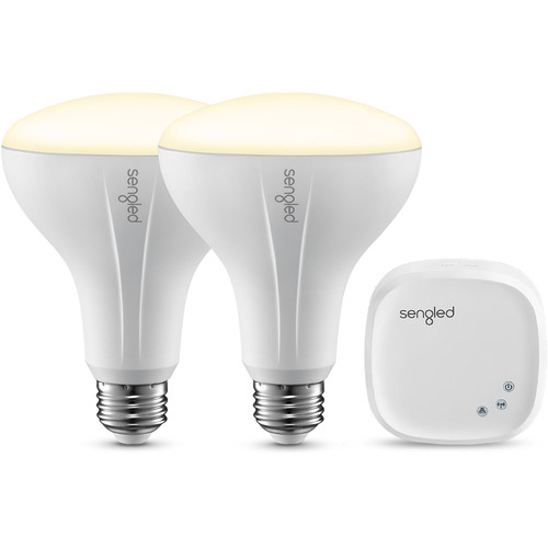 Sengled Element Classic BR30 Starter Kit (Soft White, 2-Pack)