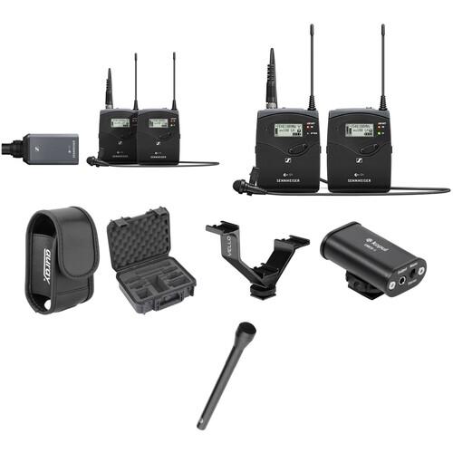 Sennheiser ew 100 ENG G4 Dual Wireless Basic Kit A: (516 to 558 MHz)