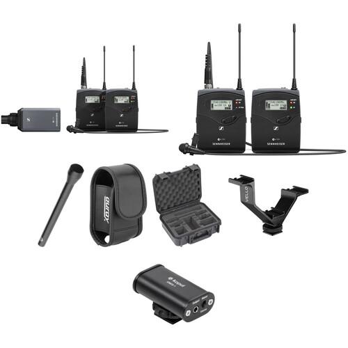 Sennheiser ew 100 ENG G4 Dual Wireless Basic Kit G: (566 to 608 MHz)