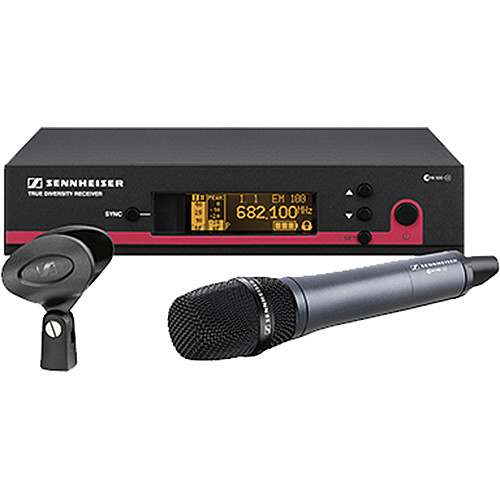 Sennheiser ew 100-935 G3 Wireless Handheld Microphone System with e 935 Mic (B: 626 to 668 MHz)
