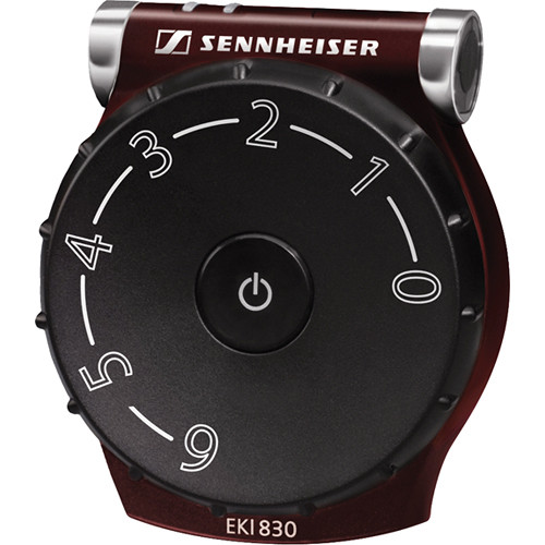 Sennheiser EKI830ADA Infrared Bodypack Receiver with Battery (2.3 and 2.8 MHz)