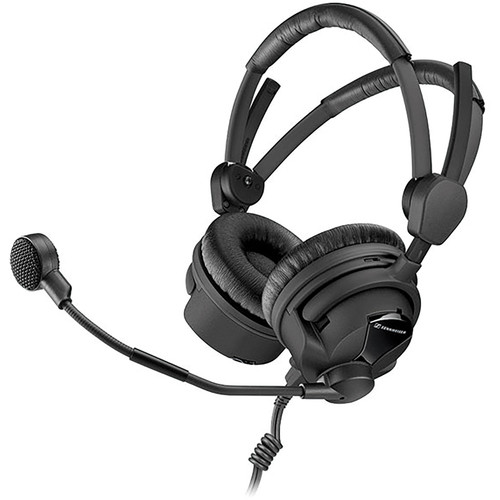 Sennheiser HMD 26-II-600 Professional Broadcast Headset with Dynamic Microphone (No Cable)